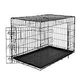 dibea DC00494, jaula de transporte para perros y animales pequeos, caja robusta hecha...