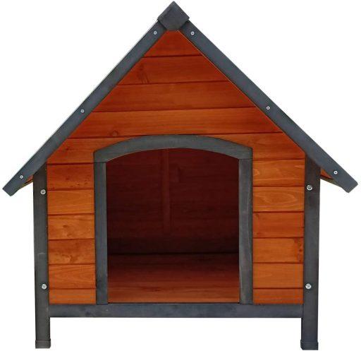 casa para perro grande de madera